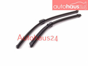 Bmw E70 X5 E71 X6 Front Windshield Wiper Blade Set New 2007 09 2011 Bosch Oem