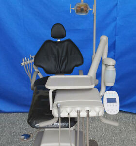 Adec 511 Dental Chair Package W Adec Radius Delivery Assistant s Arm Light
