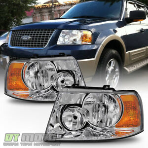 2003 2006 Ford Expedition Headlights Headlamp Replacement Left Right 03 04 05 06