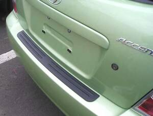 Rear Bumper Surface Protector Cover Fits 2006 2010 06 10 Hyundai Accent 4 5 Door