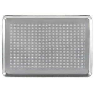 12 pack Perforated Full Size Aluminum Sheet Pan 18 X 26 407fullperf