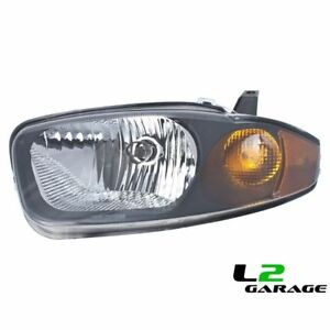 Fits Chevrolet Chevy 03 05 Cavalier Headlight Head Lamp Lh Left Driver Side
