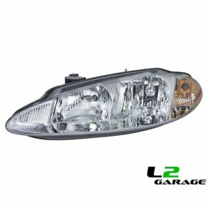 Fits Dodge 98 01 Intrepid Headlight Head Lamp Assembly Lh Left Driver Side