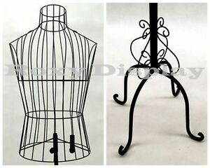 Metal Male Wire Form With Antique Metal Base ty xy140079b