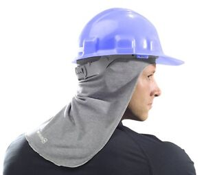 Hard Hat Sun Shade Head Neck Face Safety Protective Equipment One Size Fits All