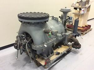 Tuthill Kg7 Steam Turbine Rated 940hp
