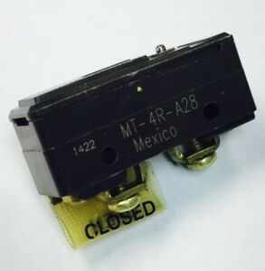 1pc Mt 4r a28 Micro Switch Honeywell Switch Snap Action N o n c Spdt Plunger