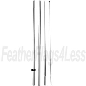 Windless Pole For Swooper Feather 2 5 3 Windless Flag Hybrid no Spike