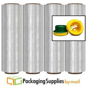 13 2000 Ft White Color Hand Wrap Pre stretch Film 280 Rolls Free Hand Saver