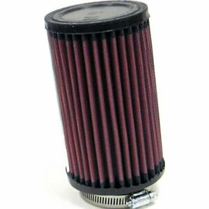K n Air Filter Element Round Straight Cotton Gauze Red 2 25 Dia Inlet Rb 0620