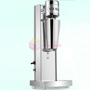 Ce Commercial Household Use Soft Ice Cream Speed Mixer Milkshake Cyclone Machine