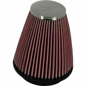 K n Air Filter Element Filtercharger Conical Cotton Gauze Red 2 25 Dia Inlet Ea