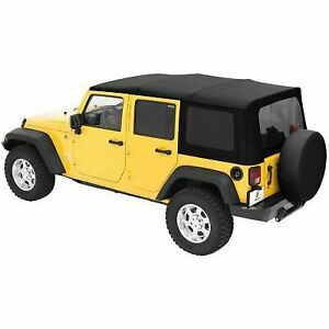 Bestop Soft Top New Black Jeep Wrangler 2007 2009 79137 35