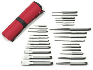 Kd Tools Gearwrench 82306 27 Piece Punch And Chisel Set