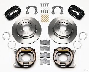 2005 2013 Ford Mustang Wilwood Forged Dynalite Rear Parking Brake Kit boss 302
