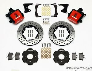 1988 1995 Honda Civic Wilwood Combination Rear Parking Brake Kit 11 Rotors