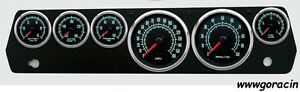 New Vintage Usa 67 70 Mopar A Body 1969 Series Gauge Set Mechanical Speedometer