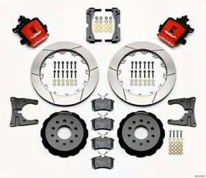 2005 2013 Ford Mustang Wilwood Combination Rear Parking Brake Kit 12 88 Rotors