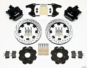 1988 1997 Honda Civic Wilwood Rear Parking Brake Kit Del Sol 12 88 Rotors