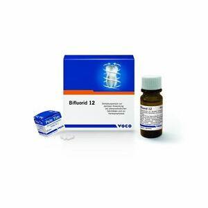 Voco Bifluorid 12 Transparent Fluoride Varnish With Sodium Fluoride