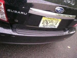 Rear Bumper Surface Cover Protector Fits 2008 2018 08 18 Subaru Impreza Sedan