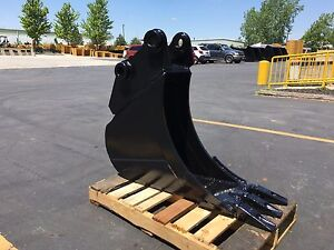 New 12 Heavy Duty Excavator Bucket For A Hyundai R80 9 W Coupler Pins