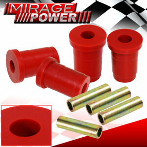 1979 1993 Ford Mustang Front Lower Control Arm Bushing Upgrade Red Polyurethane