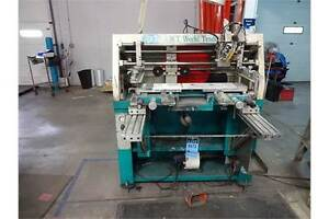 Screen Print Machine Awt World Trade Inc Diversa Printer S n 117786 5