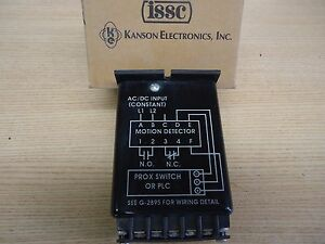 1217c 1 g b Motion Detector Prox Switch By Issc kanson Electronics