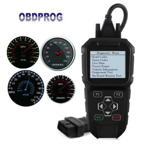 Obdii Mileage Correction Reset Tool Odometer Adjustment Obdprog Mt401 Scanner