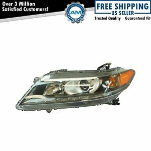 Halogen Headlight Lamp Assembly Lh Driver Side For Honda Accord Coupe 3 5l New