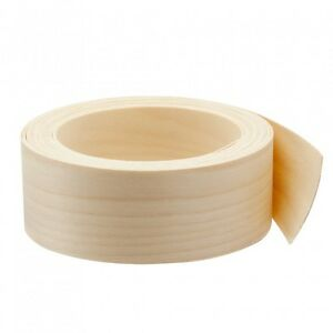 Wood Veneer Edgebanding Edge Tape Pre glued 2 X 25 Birch