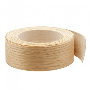 Wood Veneer Edgebanding Edge Tape Pre glued 2 X 25 Red Oak