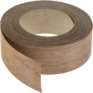 Wood Veneer Edgebanding Edge Tape Pre glued 2 X 25 Walnut