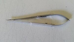 Castroviejo Needle Holder 7 Curved German Stainless Steel Ce Surgical