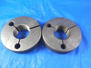 1 065 20 Ns Thread Ring Gages Go No Go P d s 1 0325 1 0285 Inspection Tool