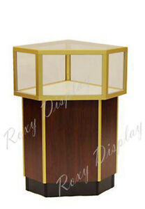 Cherry Style Jewelry Vision Display Assembled Showcase jdcu s gold sc