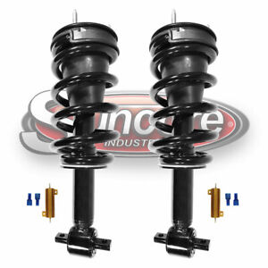 07 17 Cadillac Escalade Front Struts Autoride Conversion To Passive Kit W Bypass
