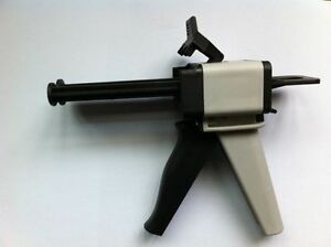 Dental Impression Material Dental Dispensing Gun Dental Dispenser 50ml 1 1 2 1