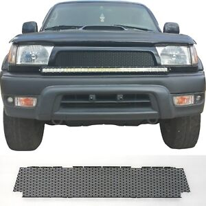 Ccg Flat Black Precut Mesh Grill Insert For A 1996 98 Toyota 4runner Grille New