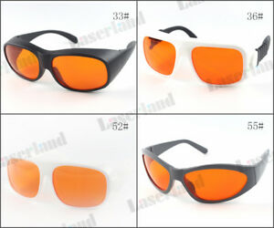 200nm 532nm Od 6 Blue Green Laser Protective Goggles Safety Glasses T 50