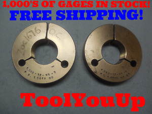 1 582 32 Ns 3 Thread Ring Gages 32 0 Go No Go P d s 1 5617 1 5575 Tool