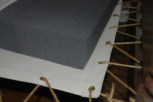 Custom Cut Foam Bed Mattress For Odd Size Antique Slat Or Rope Beds