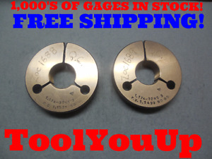 1 174 32 Ns 3 Thread Ring Gages 32 0 Go No Go P d s 1 1537 1 1499 Tool