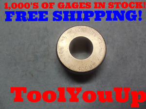 18 031 Mm Metric Class X Smooth Bore Ring Gage Tooling Quality Machine Shop