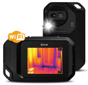 Flir C3 Compact Thermal Imaging Camera W Msx And Wifi 80x60 Res