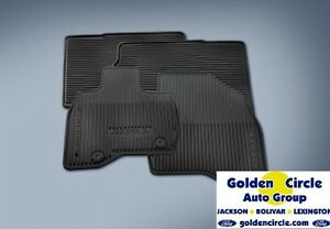 Ford Geniune Rubber All Weather Floor Mats Explorer 2016 2017 4 Pc