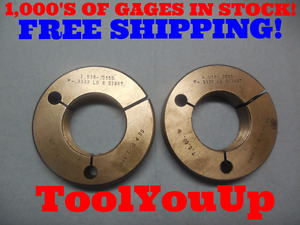 1 938 0555 P 3333 Ld 6 Start Thread Ring Gages Go No Go Pds 1 8999