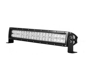 12inch 120w Driving Fog Led Light Bar Flood Spot 4 Wheeler Heavy Duty