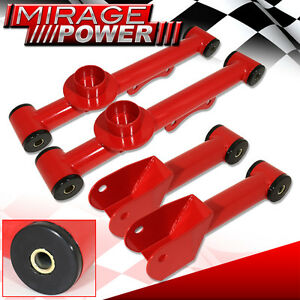 79 04 Ford Mustang New Racing Suspension Rear Lower Upper Control Red Assembly